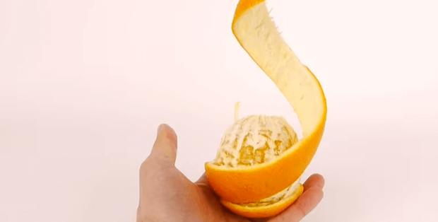 Spiral Orange Peel Trick