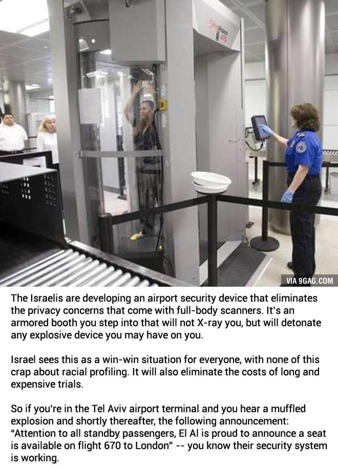israeli airport security gag